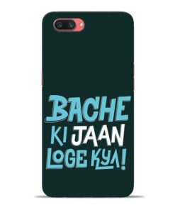 Bache Ki Jaan Louge Oppo A3s Mobile Cover