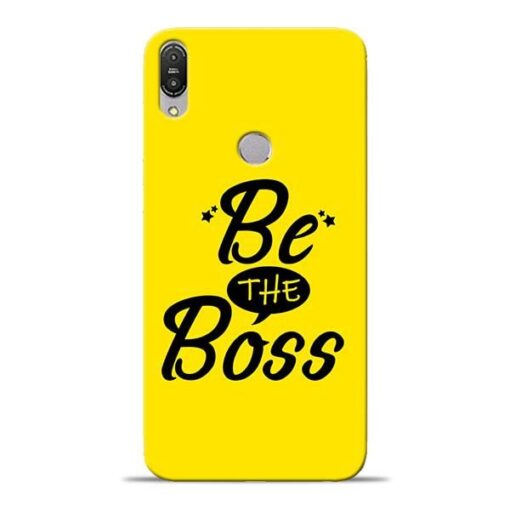 Be The Boss Asus Zenfone Max Pro M1 Mobile Cover
