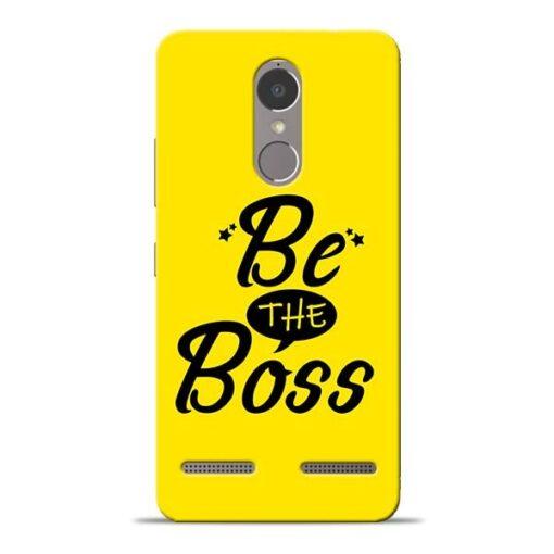 Be The Boss Lenovo K6 Power Mobile Cover