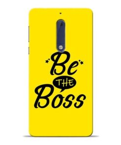 Be The Boss Nokia 5 Mobile Cover