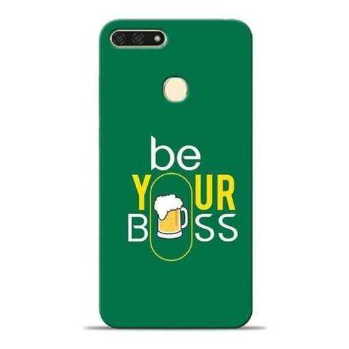 Be Your Boss Honor 7A Mobile Cover