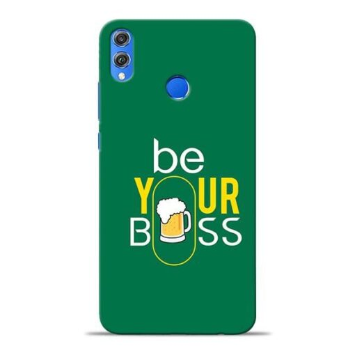 Be Your Boss Honor 8X Mobile Cover