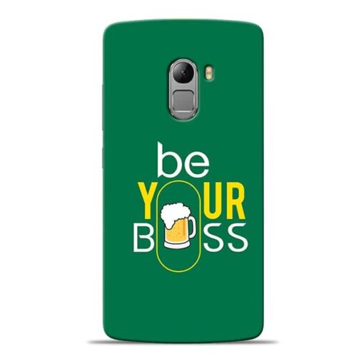 Be Your Boss Lenovo K4 Note Mobile Cover