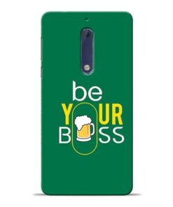 Be Your Boss Nokia 5 Mobile Cover