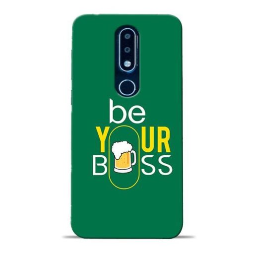Be Your Boss Nokia 6.1 Plus Mobile Cover