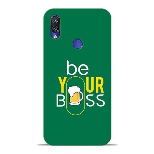 Be Your Boss Xiaomi Redmi Note 7 Pro Mobile Cover