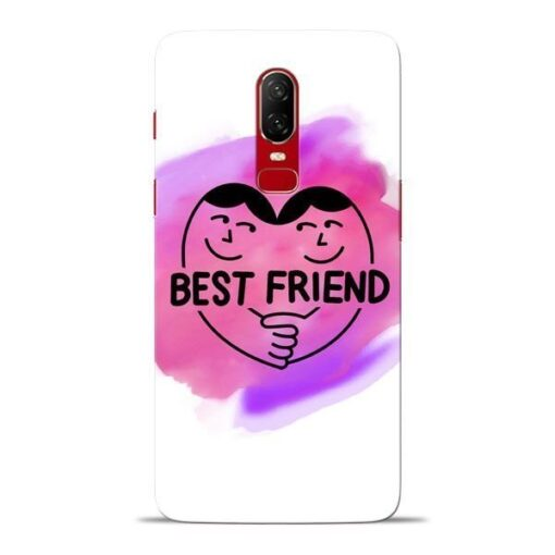 Best Friend Oneplus 6 Mobile Cover