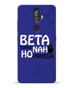 Beta Tumse Na Lenovo K8 Plus Mobile Cover