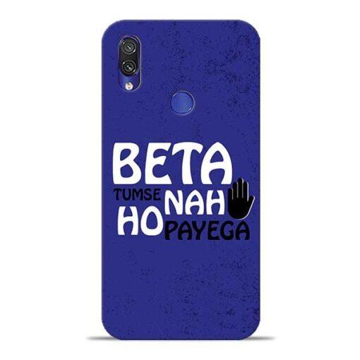 Beta Tumse Na Xiaomi Redmi Note 7 Mobile Cover