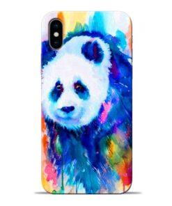 Blue Panda Apple iPhone X Mobile Cover