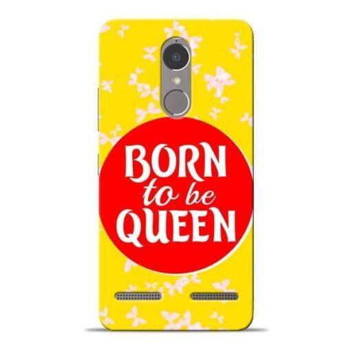 Born Queen Lenovo K6 Power Mobile Cover