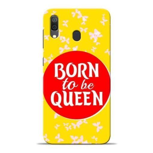 Born Queen Samsung A30 Mobile Cover