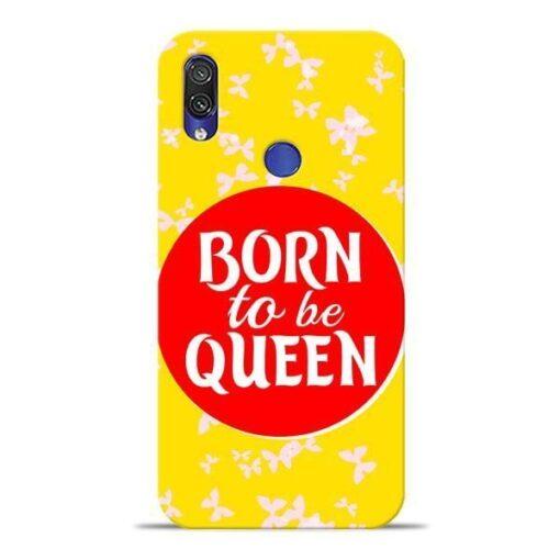 Born Queen Xiaomi Redmi Note 7 Mobile Cover
