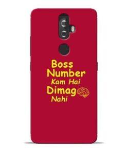 Boss Number Lenovo K8 Plus Mobile Cover