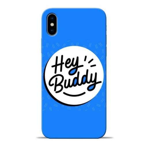 Buddy Apple iPhone X Mobile Cover