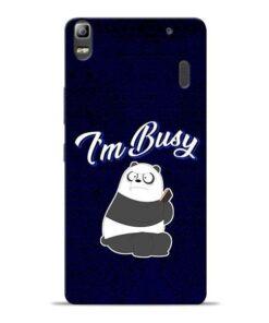 Busy Panda Lenovo K3 Note Mobile Cover