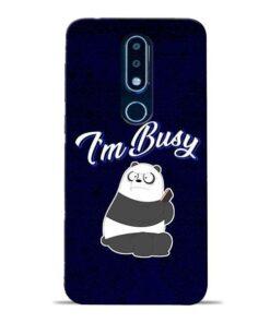 Busy Panda Nokia 6.1 Plus Mobile Cover