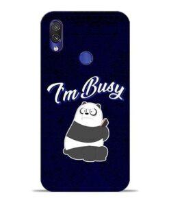 Busy Panda Xiaomi Redmi Note 7 Mobile Cover