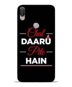 Chal Daru Pite H Asus Zenfone Max Pro M1 Mobile Cover