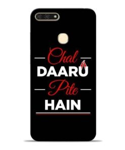 Chal Daru Pite H Honor 7A Mobile Cover