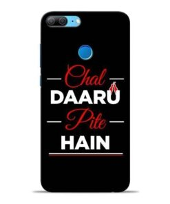 Chal Daru Pite H Honor 9 Lite Mobile Cover