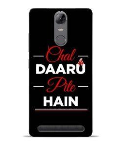 Chal Daru Pite H Lenovo K5 Note Mobile Cover