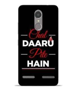 Chal Daru Pite H Lenovo K6 Power Mobile Cover