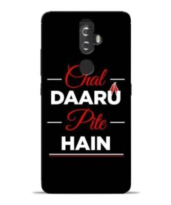 Chal Daru Pite H Lenovo K8 Plus Mobile Cover