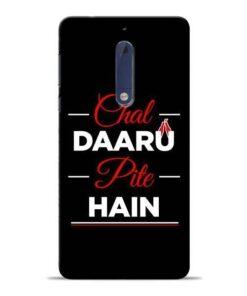 Chal Daru Pite H Nokia 5 Mobile Cover