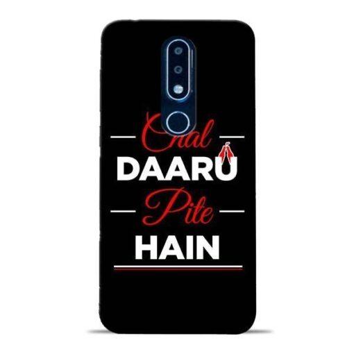 Chal Daru Pite H Nokia 6.1 Plus Mobile Cover