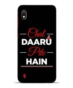 Chal Daru Pite H Samsung A10 Mobile Cover