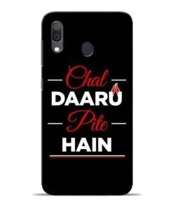 Chal Daru Pite H Samsung A30 Mobile Cover