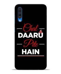 Chal Daru Pite H Samsung A50 Mobile Cover
