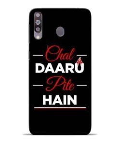 Chal Daru Pite H Samsung M30 Mobile Cover