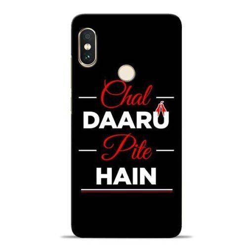 Chal Daru Pite H Xiaomi Redmi Note 5 Pro Mobile Cover