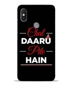 Chal Daru Pite H Xiaomi Redmi Y2 Mobile Cover