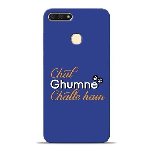 Chal Ghumne Honor 7A Mobile Cover