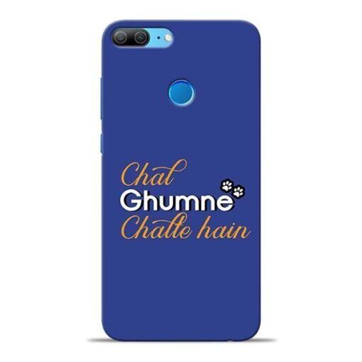 Chal Ghumne Honor 9 Lite Mobile Cover
