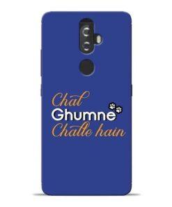 Chal Ghumne Lenovo K8 Plus Mobile Cover