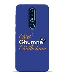 Chal Ghumne Nokia 6.1 Plus Mobile Cover