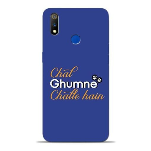 Chal Ghumne Oppo Realme 3 Pro Mobile Cover