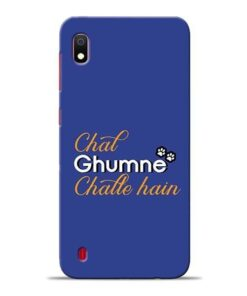 Chal Ghumne Samsung A10 Mobile Cover