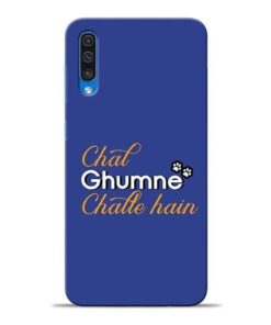 Chal Ghumne Samsung A50 Mobile Cover