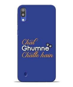 Chal Ghumne Samsung M10 Mobile Cover