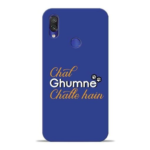 Chal Ghumne Xiaomi Redmi Note 7 Mobile Cover