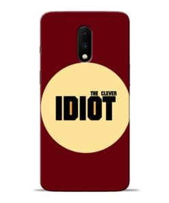 Clever Idiot Oneplus 7 Mobile Cover