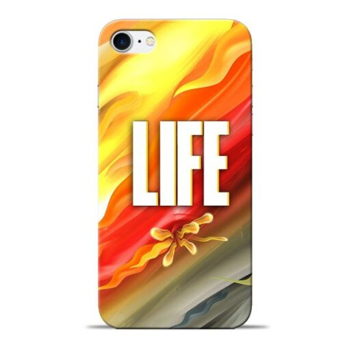 Colorful Life Apple iPhone 8 Mobile Cover