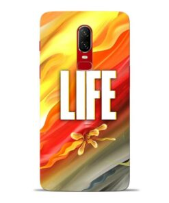 Colorful Life Oneplus 6 Mobile Cover