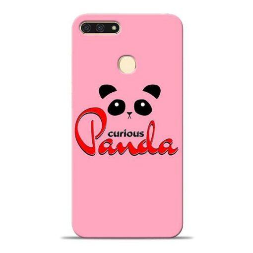 Curious Panda Honor 7A Mobile Cover