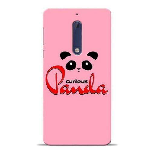 Curious Panda Nokia 5 Mobile Cover